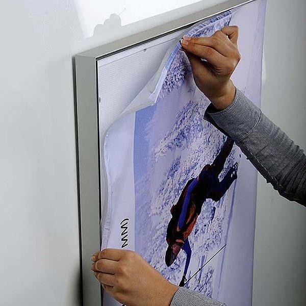 MaxiFrame LED 20 einseitig DIN A0 Postermaß 8