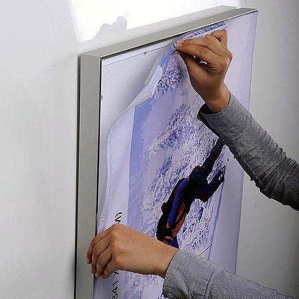 MaxiFrame LED 20 einseitig DIN A0 Postermaß 9