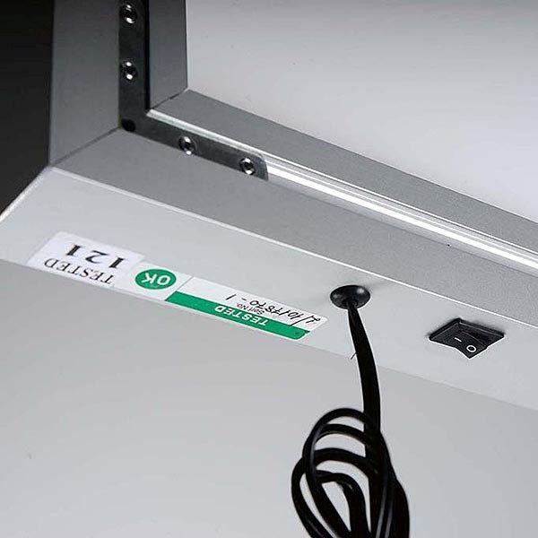MaxiFrame LED 20 einseitig DIN A1 Postermaß 13