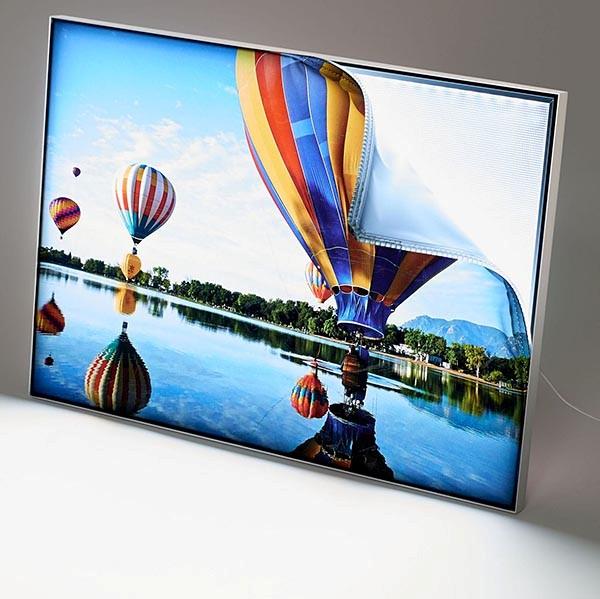 MaxiFrame LED 20 einseitig DIN A2 Postermaß 1