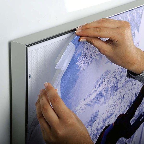 MaxiFrame LED 20 einseitig DIN A2 Postermaß 7