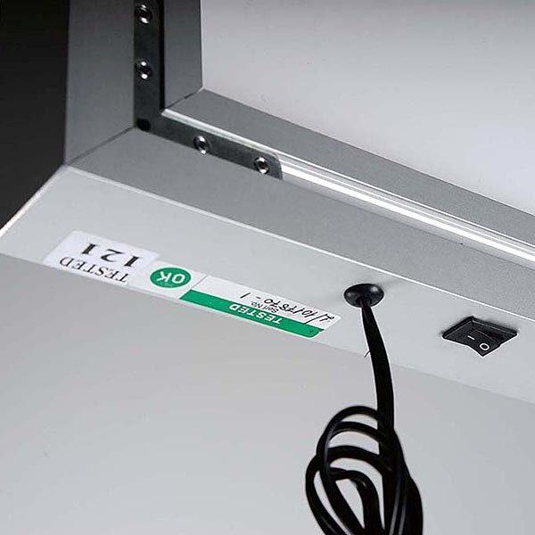 MaxiFrame LED 20 einseitig DIN B0 Postermaß 13