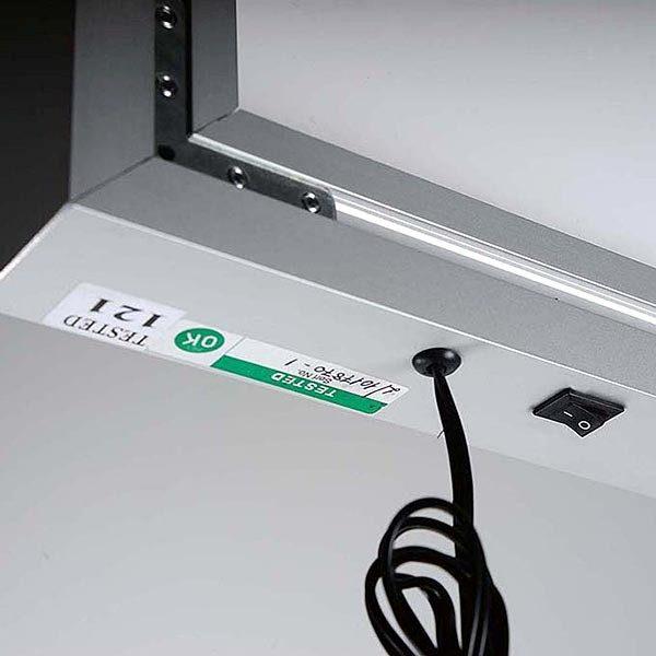MaxiFrame LED 20 einseitig DIN B1 Postermaß 13