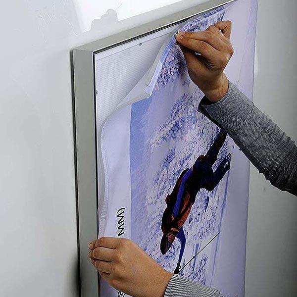 MaxiFrame LED 20 einseitig DIN B1 Postermaß 8