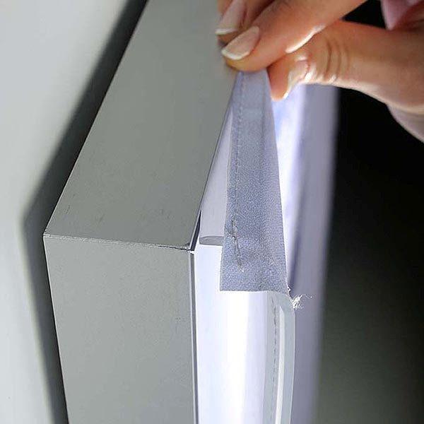 MaxiFrame LED 20 einseitig DIN B2 Postermaß 13