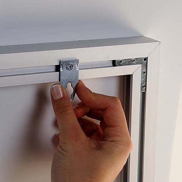 MaxiFrame LED 20 einseitig DIN B2 Postermaß 6