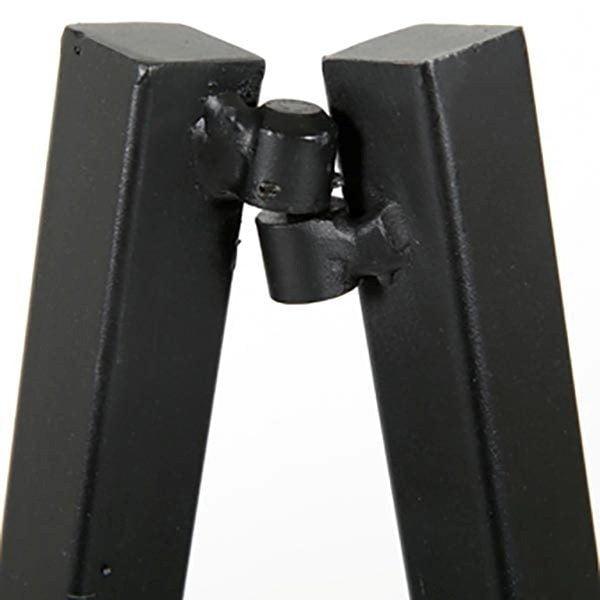 Mobile Staffelei Aluminium schwarz 4
