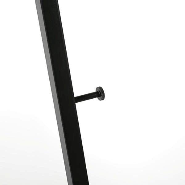 Mobile Staffelei Aluminium schwarz 5