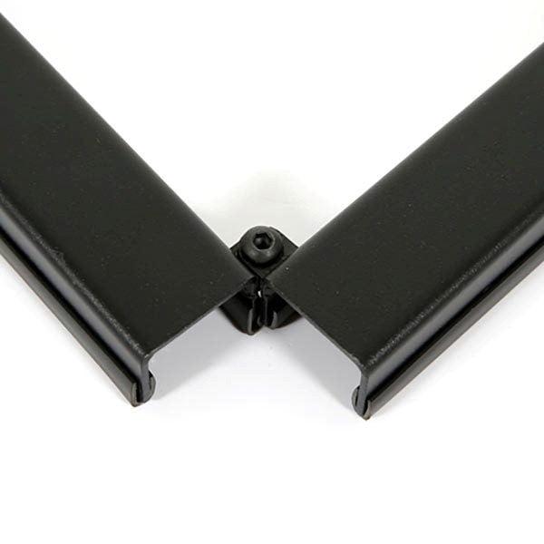 Mobile Staffelei Aluminium schwarz 6