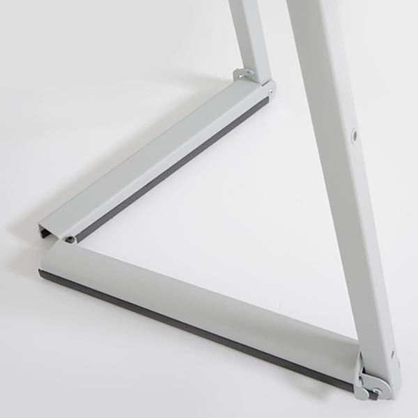 Mobile Staffelei Aluminium silber eloxiert 8