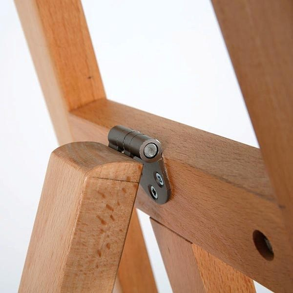 Moderne Holz Staffelei aus Buchenholz 3