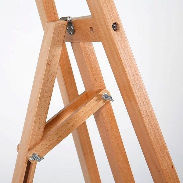 Moderne Holz Staffelei aus Buchenholz 4