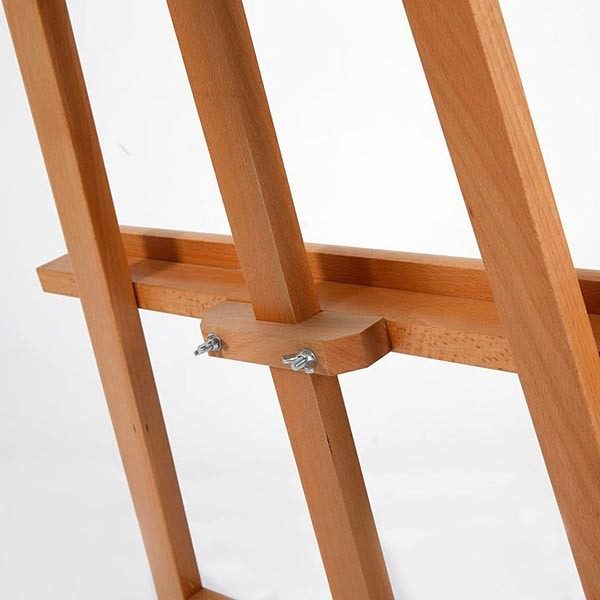 Moderne Holz Staffelei aus Buchenholz 5