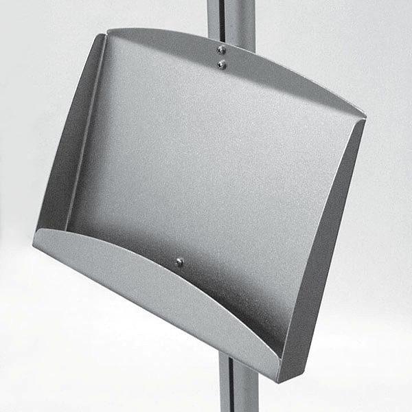 Plakatständer Free doppelseitig DIN A2 Postermaß 2x Stahlablage 2