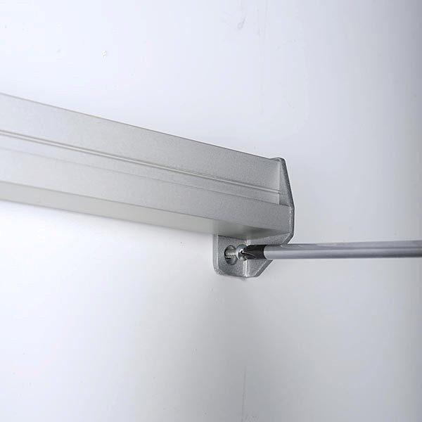 Prospekthalter für Wandmontage 2 x DIN A4 Format 4