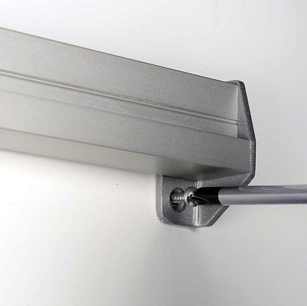Prospekthalter für Wandmontage 2 x DIN A5 Format 4