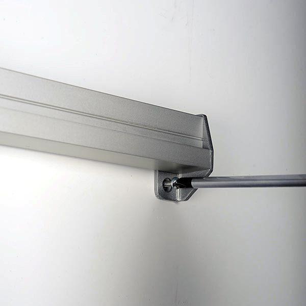 Prospekthalter für Wandmontage 3 x DIN lang Format 100 x 210 mm 3