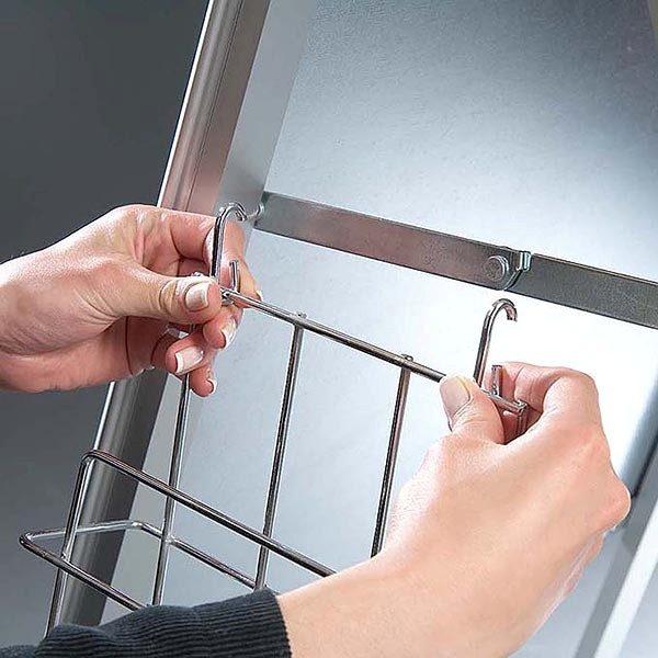 Prospektkorb DIN A4 für Kundenstopper A Board Classic DIN A4 1