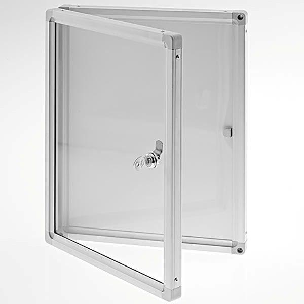 Schaukasten Magnetoplan Indoor 4x DIN A4 610x730mm 1