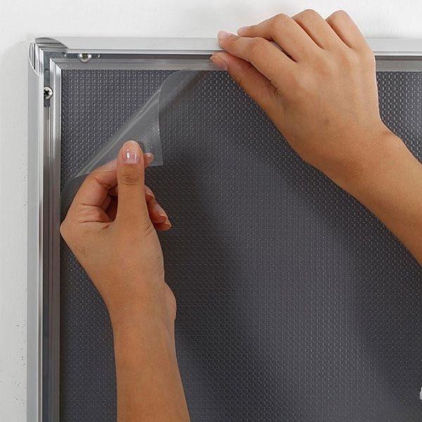 Selbstklebender Klapprahmen 25mm DIN A1 Postermaß 4