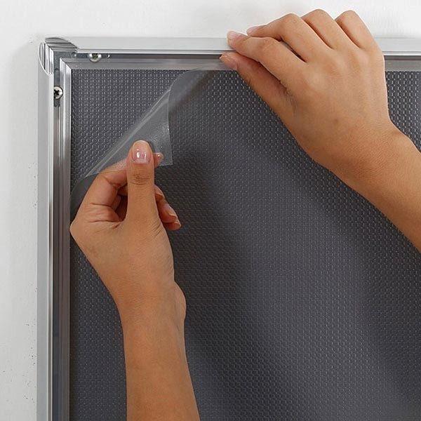 Selbstklebender Klapprahmen 25mm DIN A4 Postermaß 4