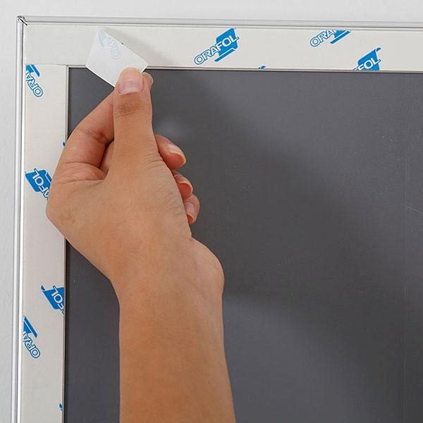 Selbstklebender Klapprahmen 25mm DIN A4 Postermaß 5
