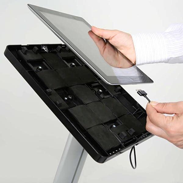 """Tablet Infoständer Universal für iPad 1 2 3 4 Air Samsung Galaxy und 9.7"""" 10.1"""" Tablets 4"""