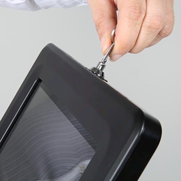 """Tablet Infoständer Universal für iPad 1 2 3 4 Air Samsung Galaxy und 9.7"""" 10.1"""" Tablets 8"""