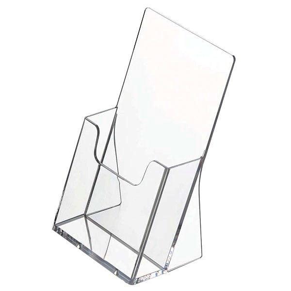 Tischprospekthalter DIN lang Hochformat 100 x 210 mm 1