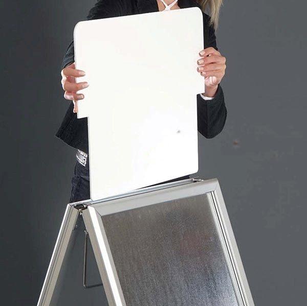 Topschild für Kundenstopper A Board Classic DIN A0 Postermaß 7