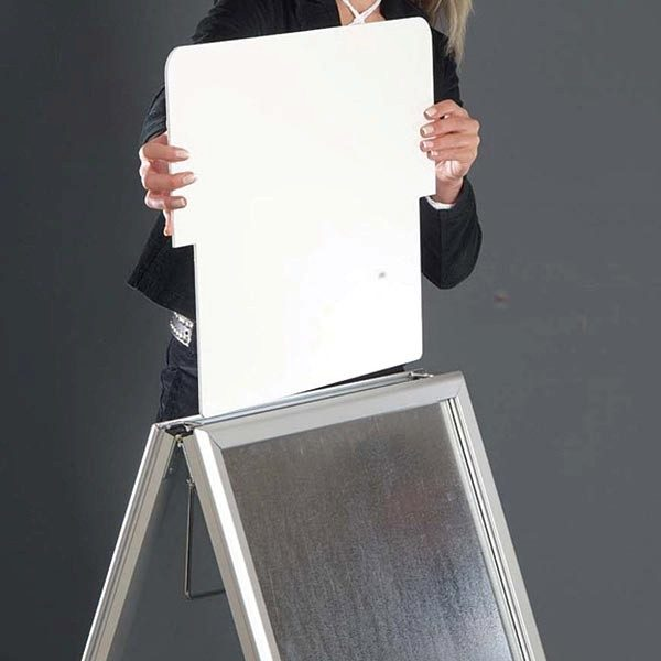 Topschild für Kundenstopper A Board Classic DIN A2 Postermaß 7