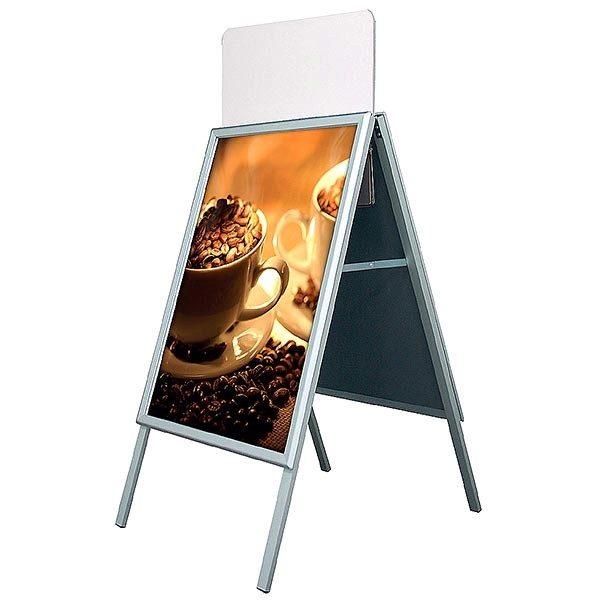 Topschild für Kundenstopper A Board Classic DIN B1 Postermaß 2