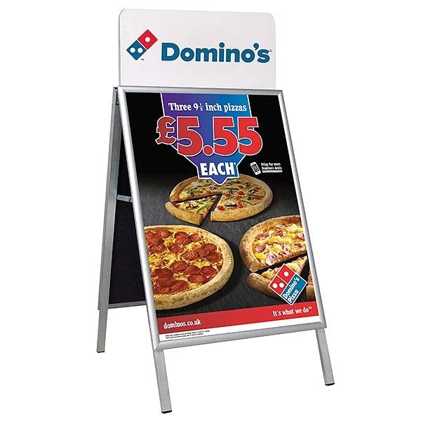 Topschild für Kundenstopper A Board Classic DIN B1 Postermaß 6
