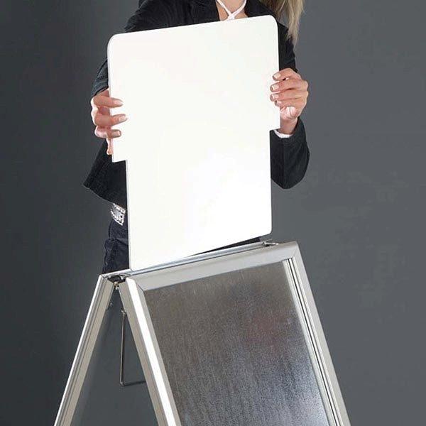 Topschild für Kundenstopper A Board Classic DIN B1 Postermaß 7