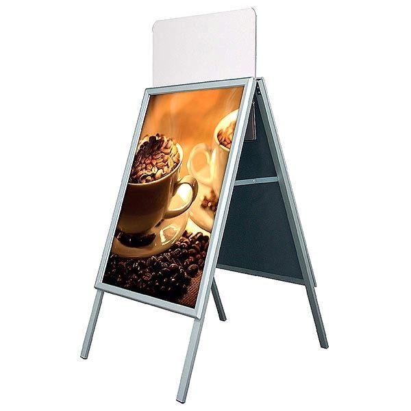 Topschild für Kundenstopper A Board Classic DIN B2 Postermaß 2