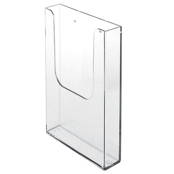 Wandprospekthalter DIN lang Hochformat 100 x 210 mm 1