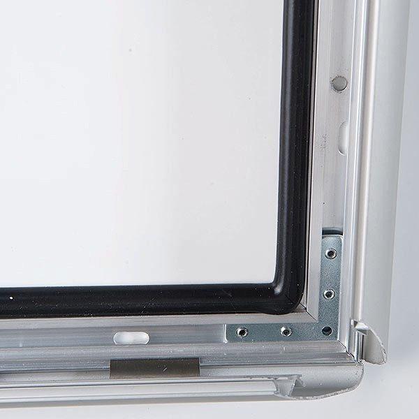 Wasserfester Klapprahmen mit Sicherungsschraube 35mm DIN A0 Postermaß 1