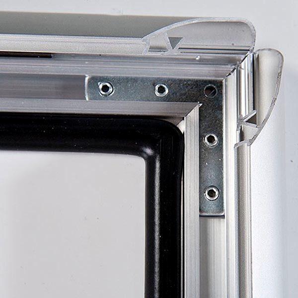 Wasserfester Klapprahmen mit Sicherungsschraube 35mm DIN A0 Postermaß 2
