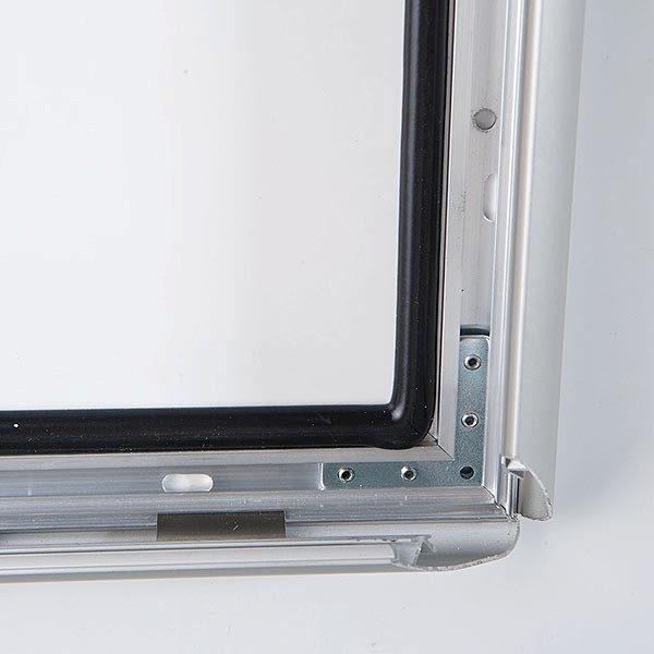 Wasserfester Klapprahmen mit Sicherungsschraube 35mm DIN A1 Postermaß 1