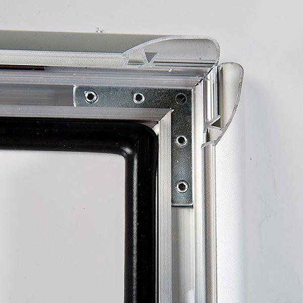 Wasserfester Klapprahmen mit Sicherungsschraube 35mm DIN B0 Postermaß 2