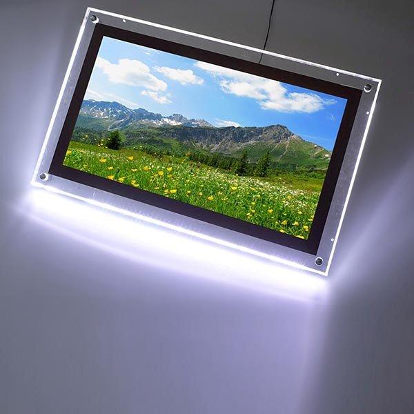 AcryLED Leuchtrahmen einseitig DIN A1 Postermaß