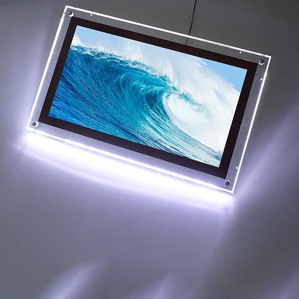 AcryLED Leuchtrahmen einseitig DIN A4 Postermaß