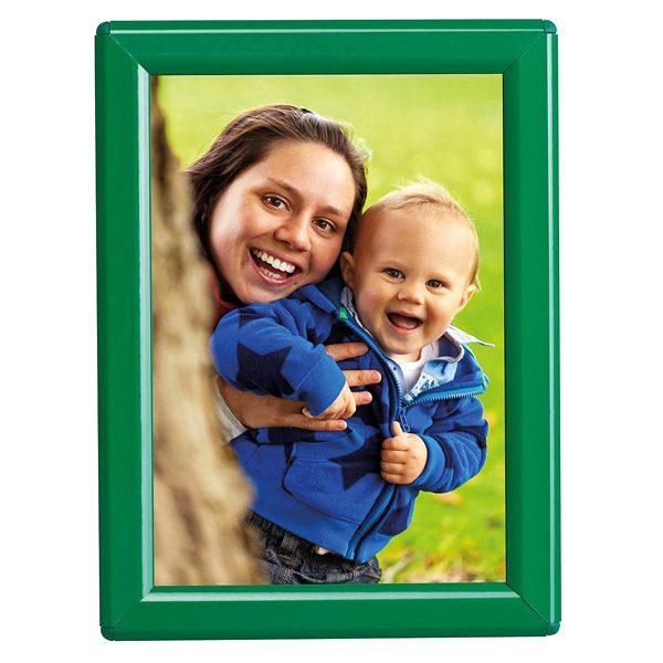 Klapprahmen Opti Frame Grün DIN A6 Postermaß mit Rückenstütze
