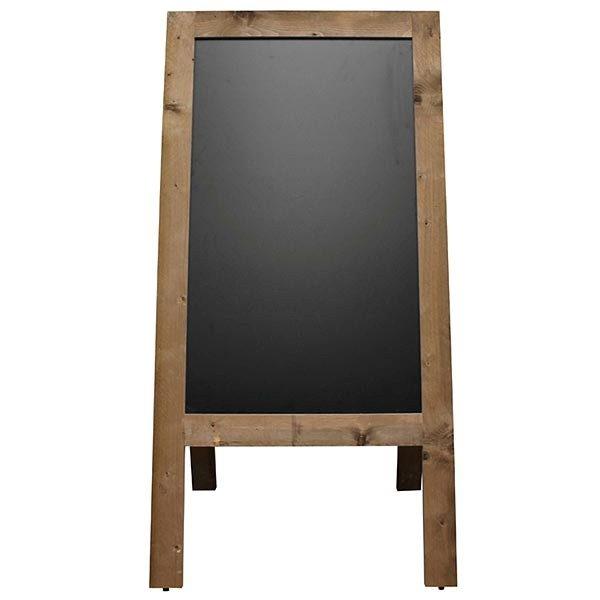 Kundenstopper Holz Vintage 560 x 900 mm Schreibfläche
