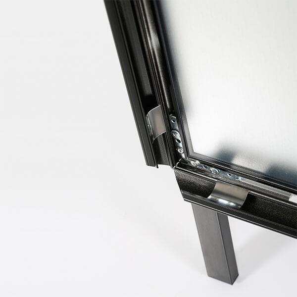 kundenstopper indoor 32mm schwarz din a1 postermaß 4