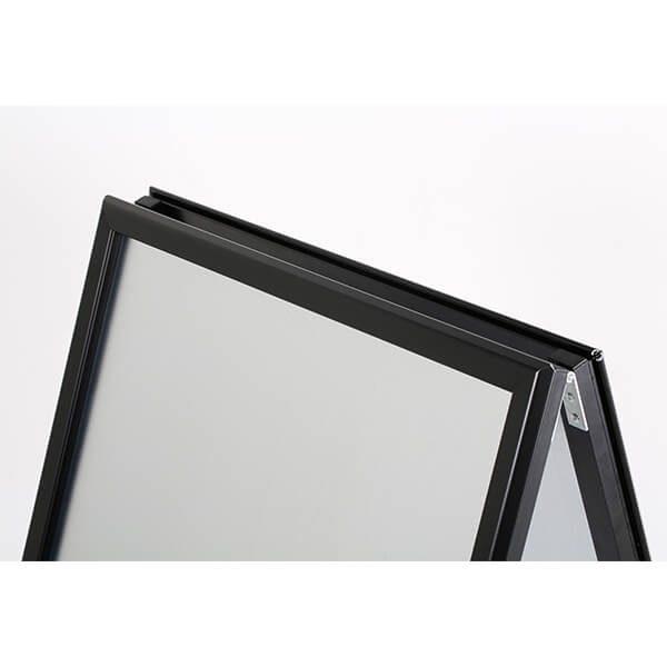 kundenstopper indoor 32mm schwarz din a1 postermaß 5