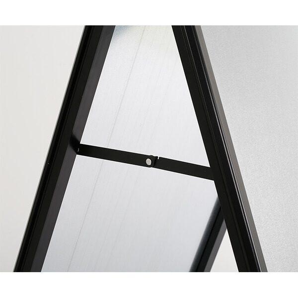 kundenstopper indoor 32mm schwarz din a1 postermaß 6