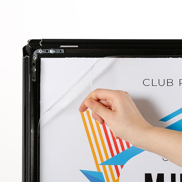 kundenstopper indoor 32mm schwarz din a1 postermaß 7