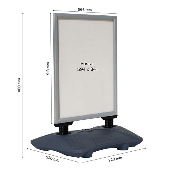 kundenstopper-windpro-silber-din-a1-postermaß