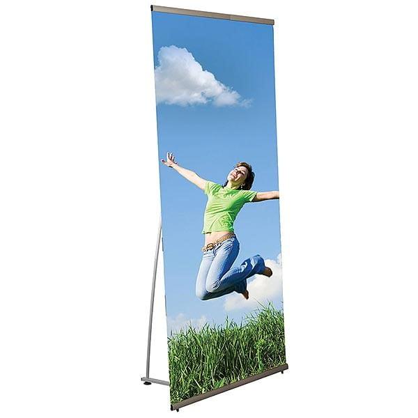 l banner standard 800x2000mm druckbereich